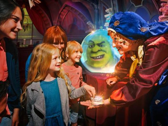 Shreks Adventure is one of the top things to do in London with kids