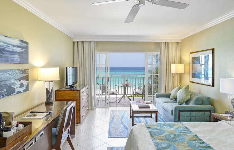 Rooms at Turtle Beach Resort, Barbados