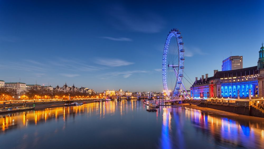 The london eye is one of the top things to do in London with kids