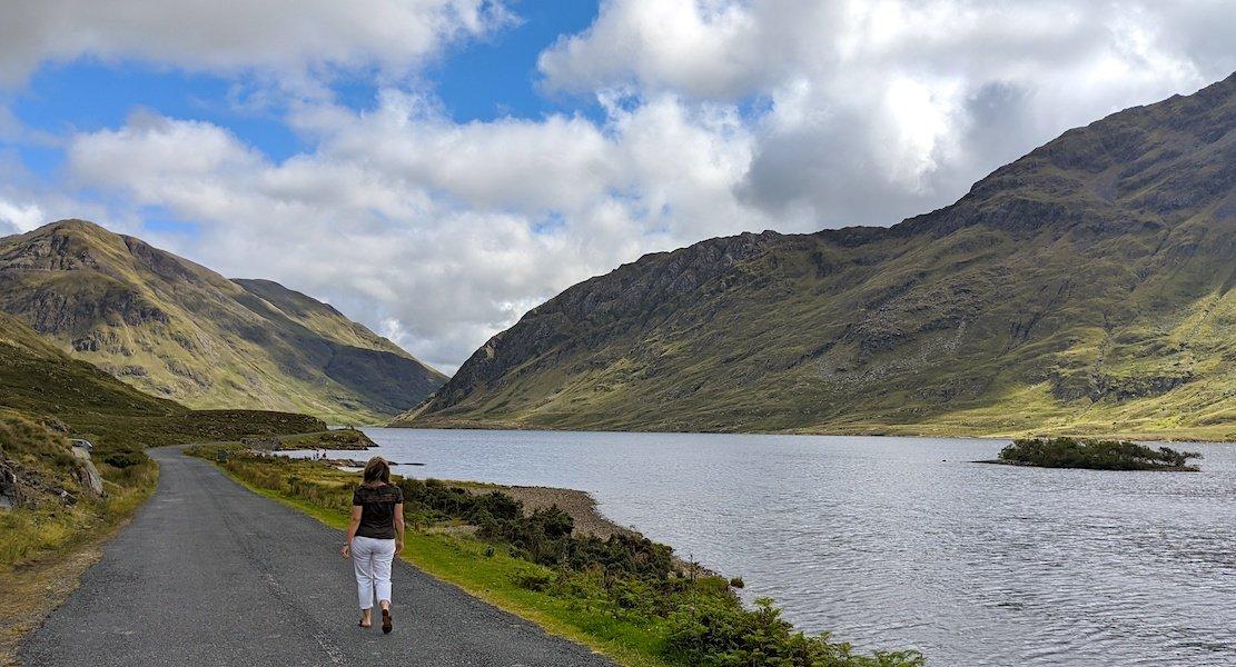 Doo Lough Valley drive is one of the hidden gems in Ireland