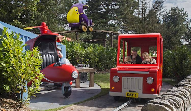 Postman Pat at Alton Towers theme park