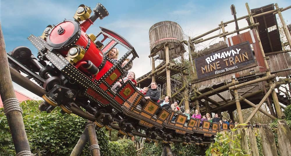 Alton Towers is the UK's most popular theme park and one of the best theme parks in Europe