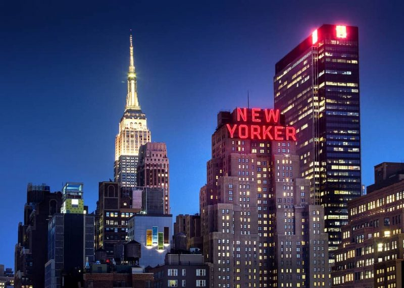 hotel in New York for shopping trip