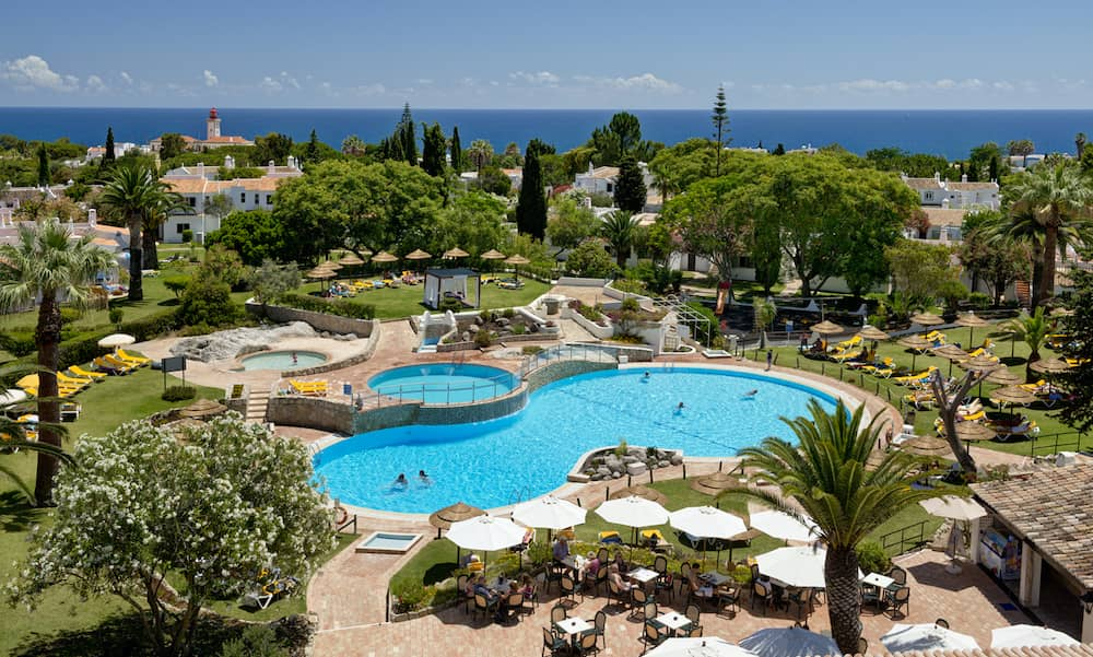 family holidays to the Algarve staying at the Rocha Brava