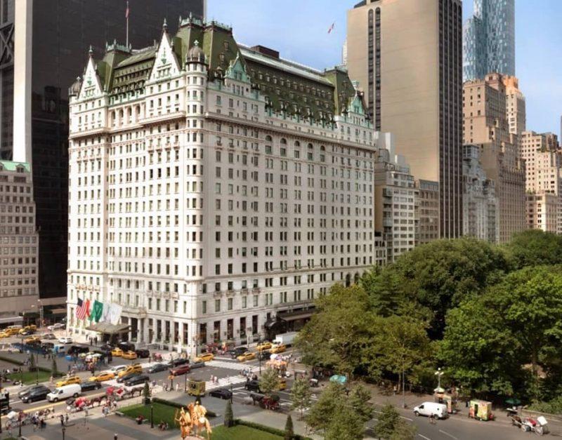 luxury hotel in New York - The Plaza
