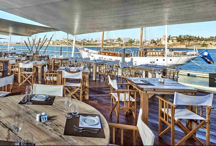 Restaurant at Tivoli Marina, Portimao