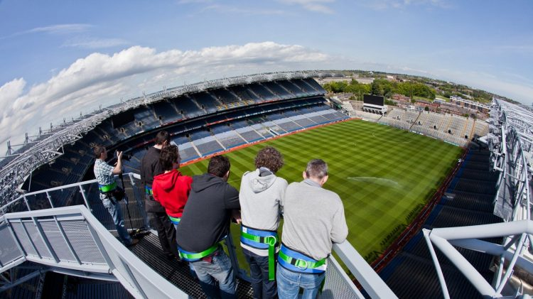 Croke Park tour is one of the top things to do in Dublin with teenagers
