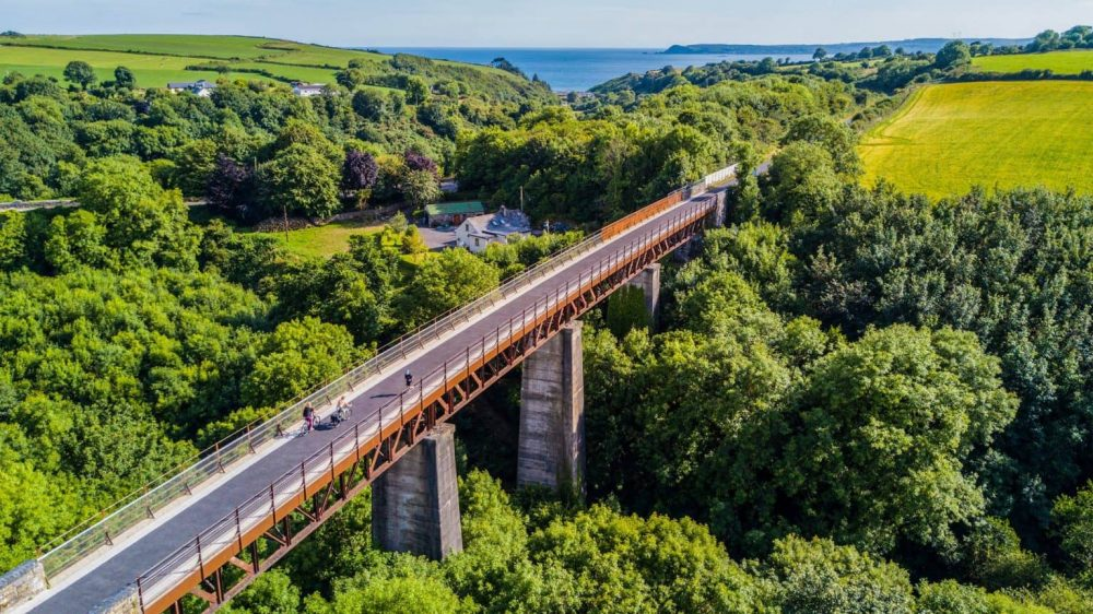 Waterford Greenway from above