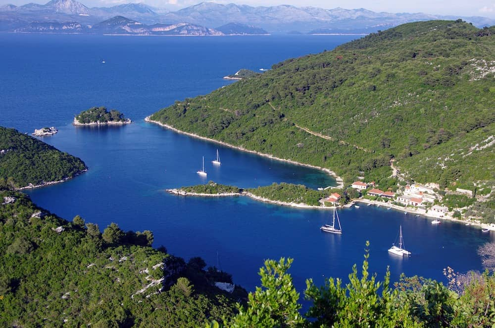 Mljet Island - one of the best islands to visit in Croatia