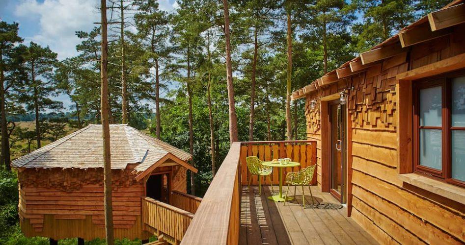Treehouse Master Balcony