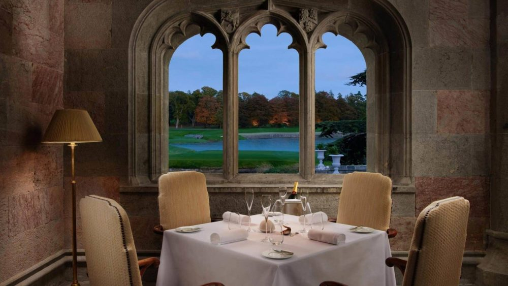Adare Manor is one of the most luxurious hotels in Ireland for food lovers
