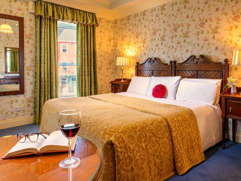 Traditional rooms at Arbutus Hotel, Killarney