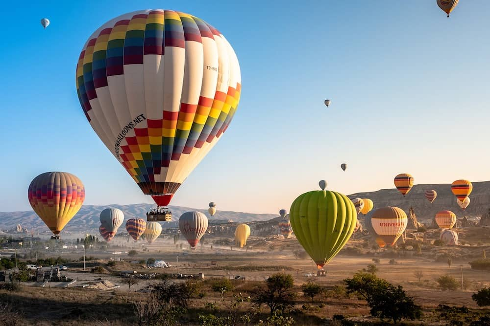 a hot air balloon ride over Cappadocia is one of the worlds best travel experiences