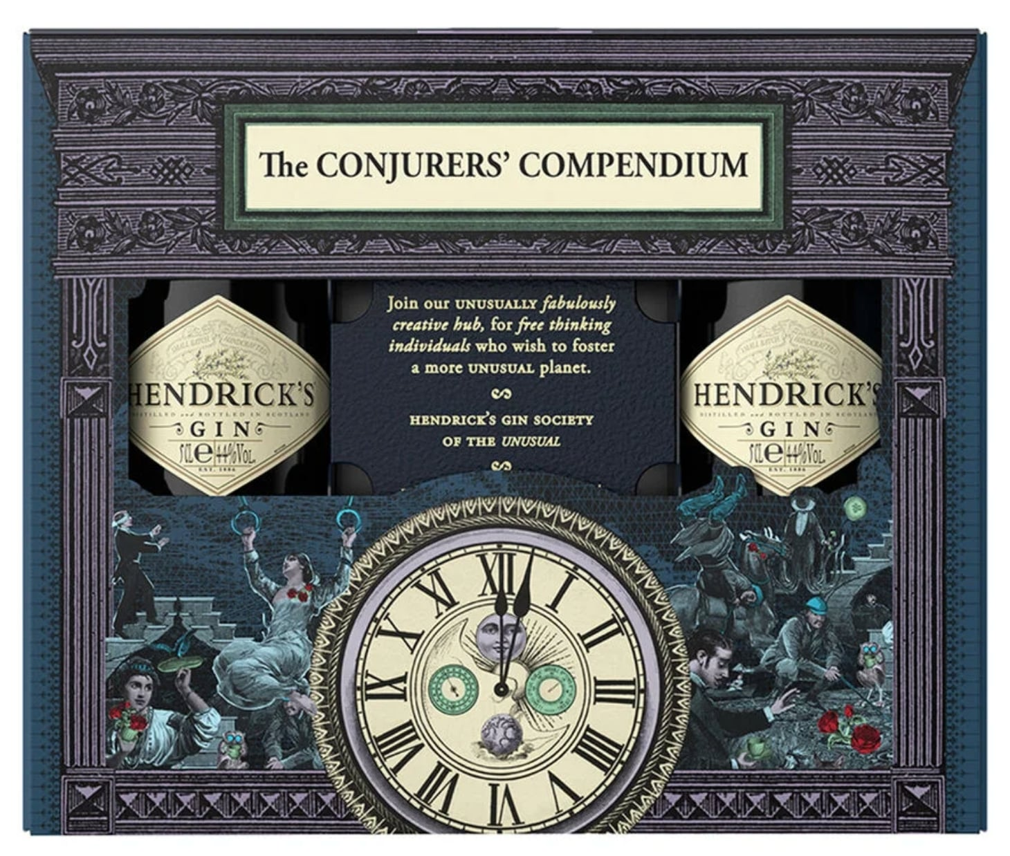 Hendricks Gin gift set available for sale at the airport