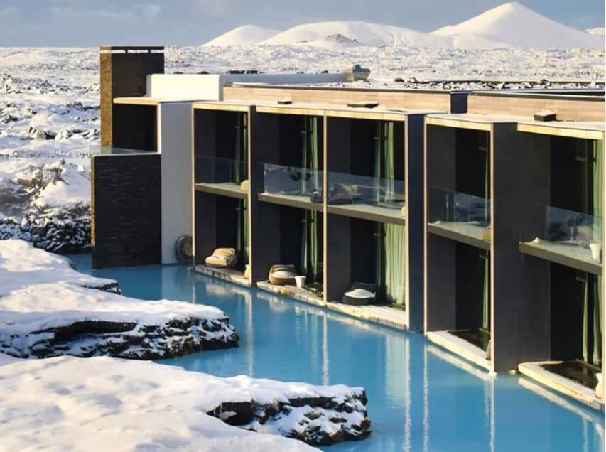 The Retreat at the Blue Lagoon in Iceland is on my Europe bucket list