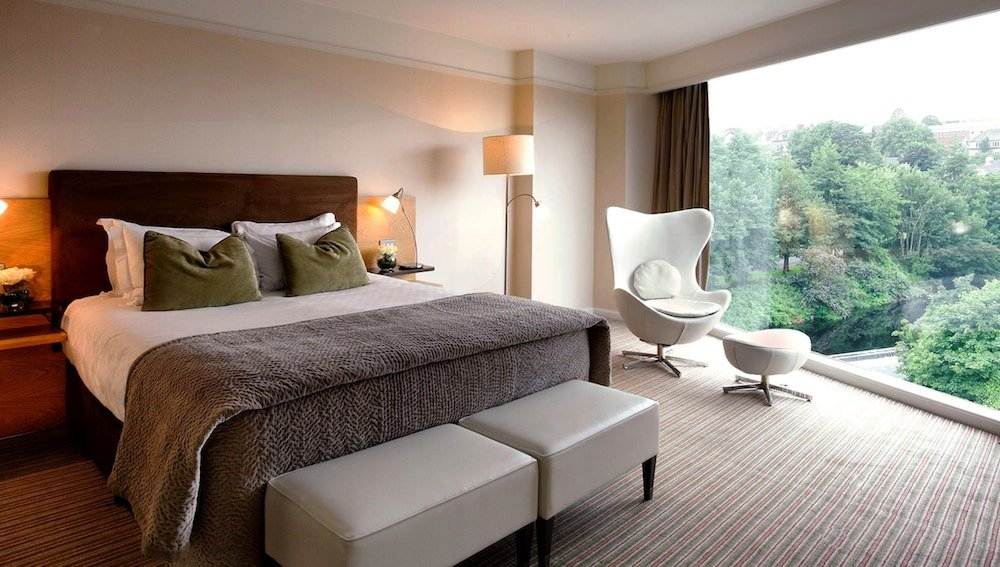Bedrooms at River Lee Hotel, Cork