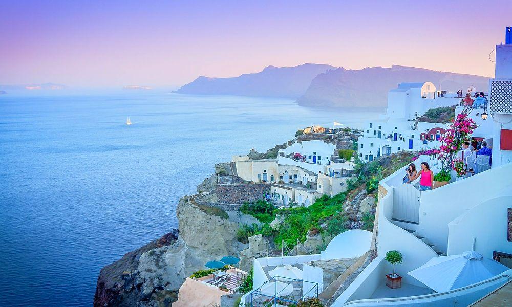 holidays to Santorini from Ireland