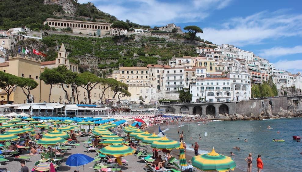 beach in Amalfi