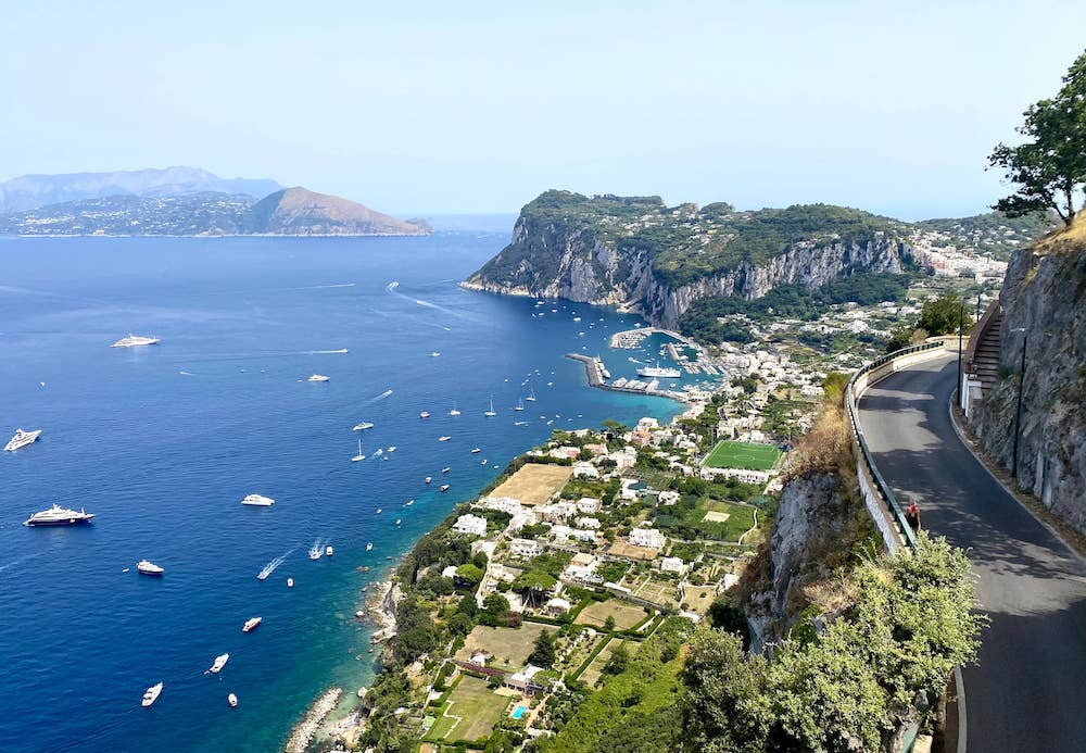 views from Capri