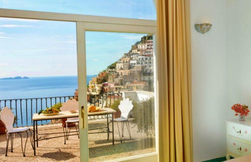 view from Villa Rosa Hotel balcony
