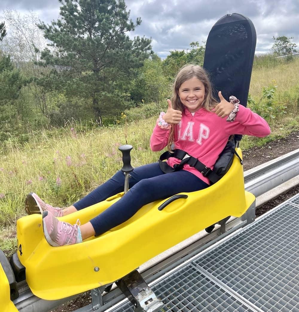 Black Bull Run, Alpine Coaster, Colin Glen Forest Park