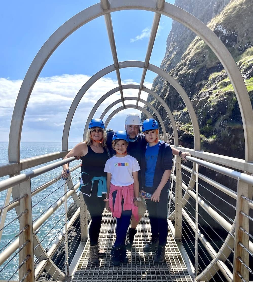 The Gobbins Cliff Path is one of the top things to do in Northern Ireland