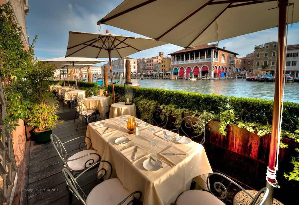 L'Alcova restaurant, Venice (1)