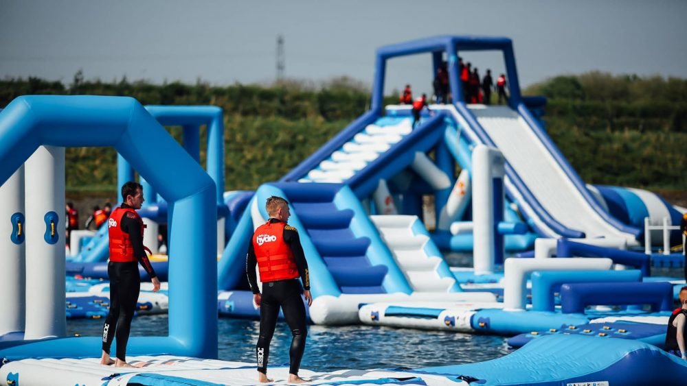 Lets go Hydro inflatable water park