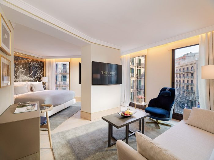 Where to stay in Barcelona for luxury - The One Hotel