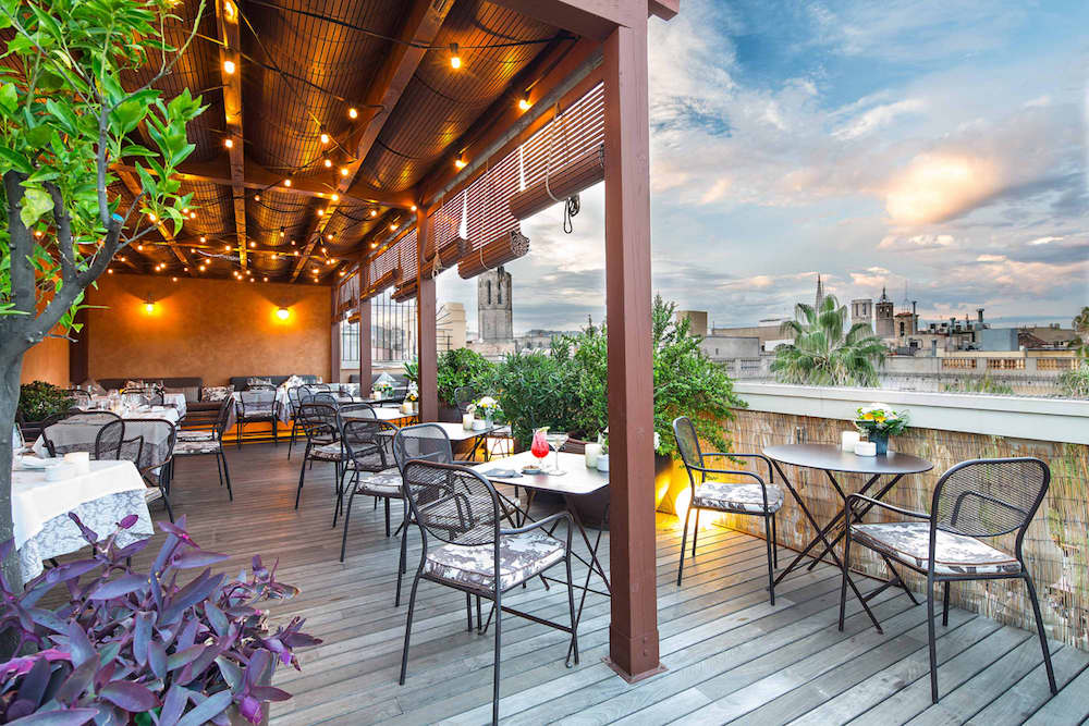 hotels in Barcelona with rooftop bars