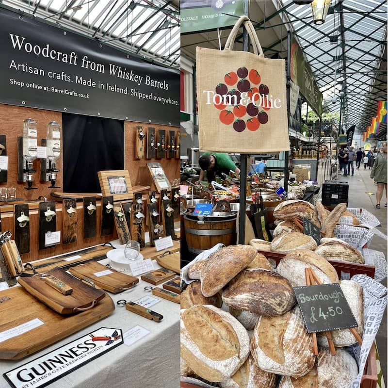 St Georges Market is one of the oldest attractions in Belfast