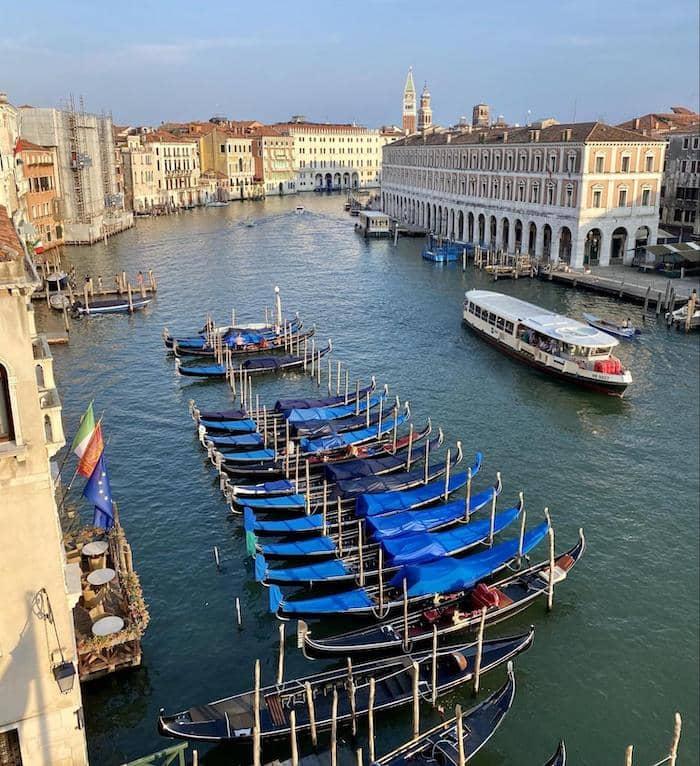 View from Ca' Sagredo Hotel, Venice