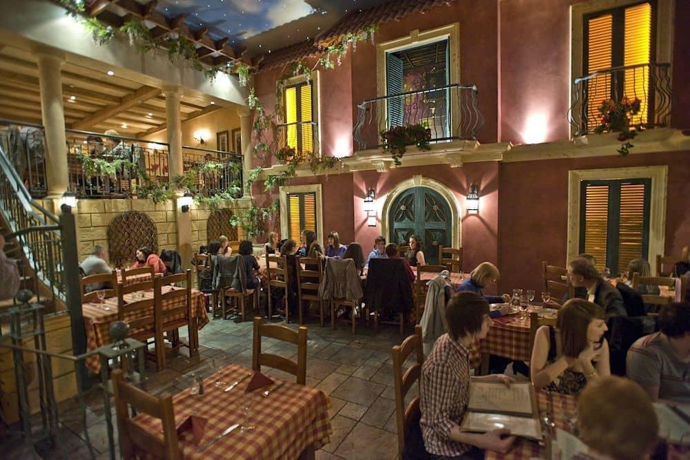Villa Italia is one of the best restaurants in Belfast for families