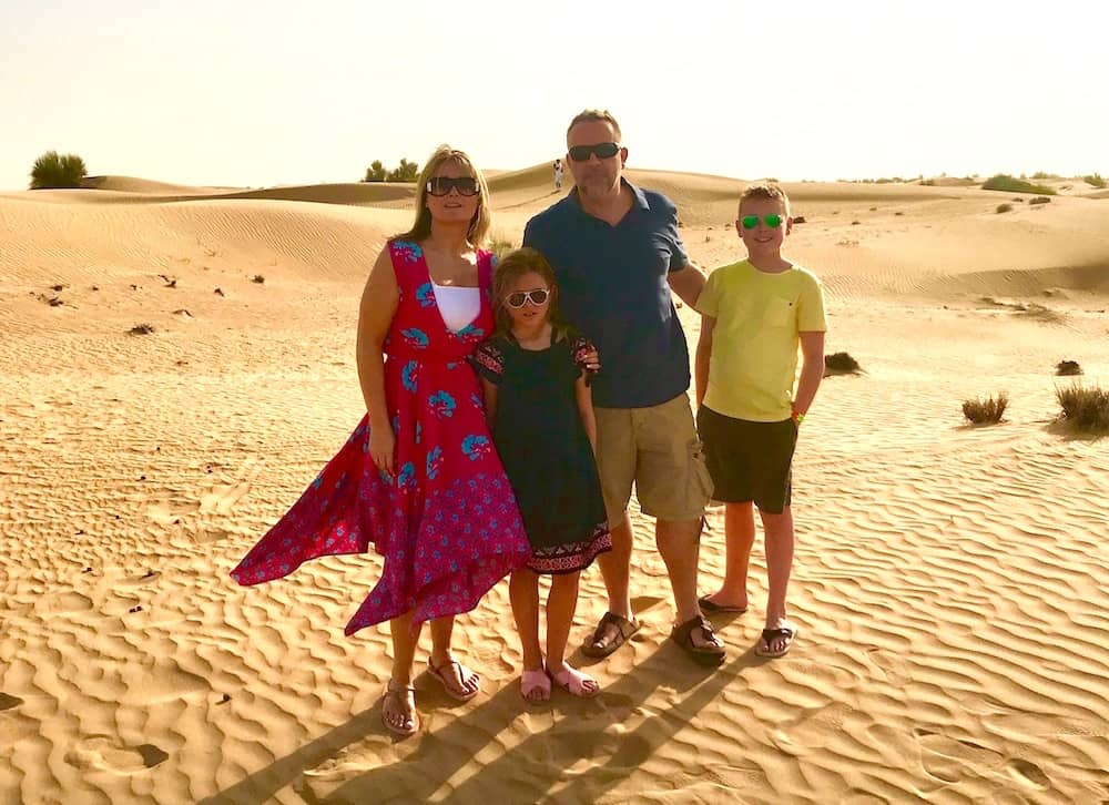 family offer to Dubai in the travel experts best travel deals