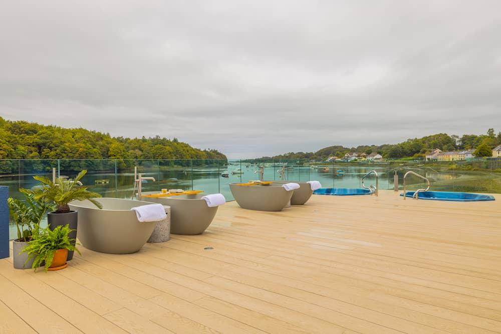 spa at the Ice House Hotel, Ballina
