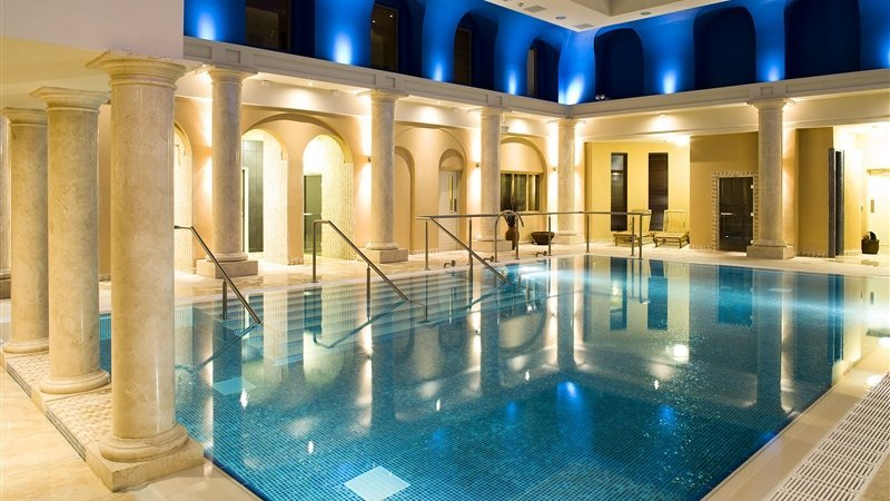 Knockranny Hotel swimming pool